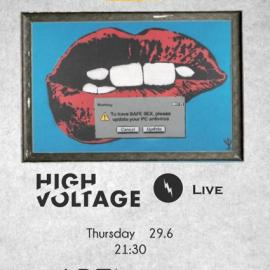 ART AFTER DARK WITH HIGH VOLTAGE