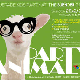 KIDS ANIMAL PARTY!