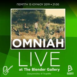 OMNIAH LIVE at The Blender Gallery!