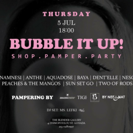 BUBBLE IT UP! SHOP.PAMPER.PARTY!